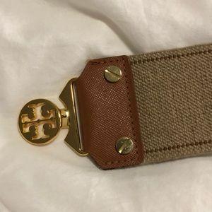 Brown Tory Burch belt